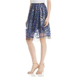 Nicolette Floral Embroidered Skirt